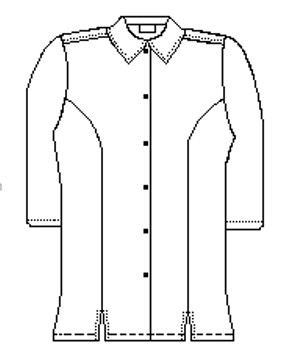 Line Drawing - Front