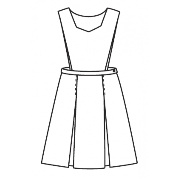 Line Art Uniform : Jumper pinafore kick pleat jumpers girls